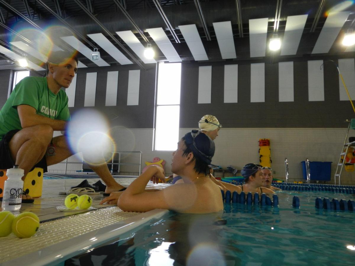 Coaching Triathlon Swimming